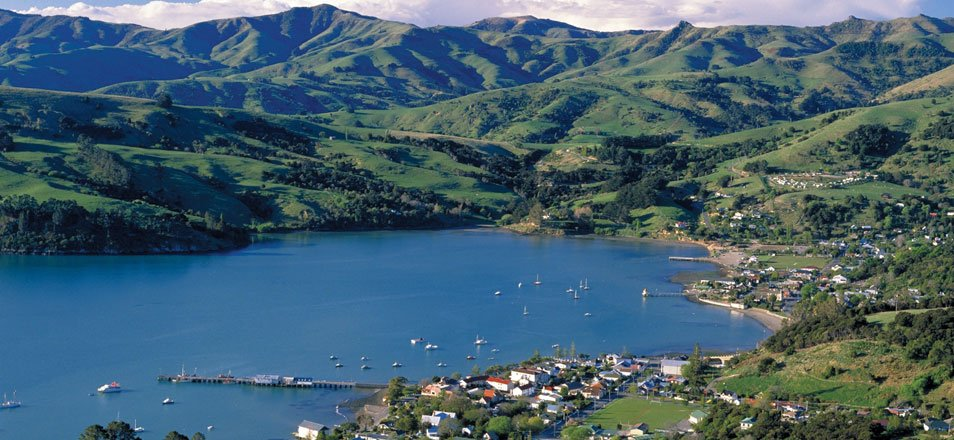 Beautiful Akaroa