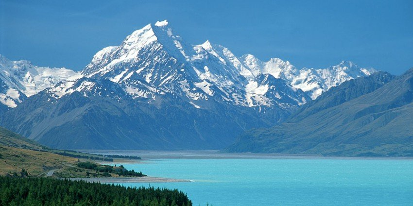 Laki Pukaki and Mount Cook