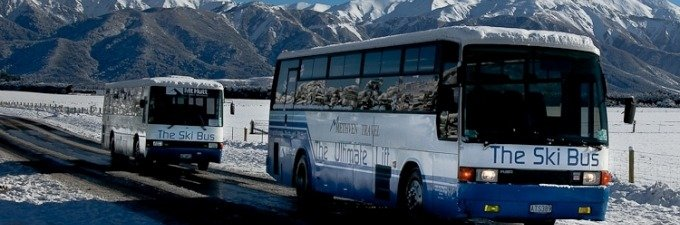 Mt Hutt Ski Bus